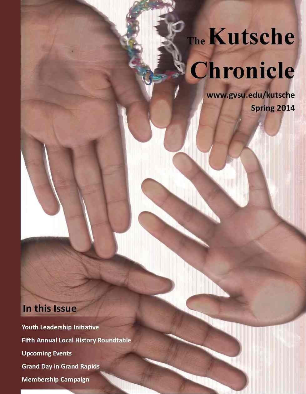 Spring 2014 Kutsche Chronicle